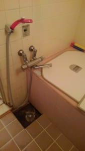 常陸太田市で起こった風呂水漏れ