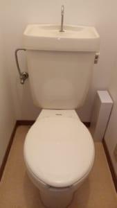 水戸市のトイレ水漏れ