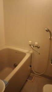 潮来市の風呂水漏れ