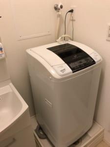 筑西市の洗濯水漏れ