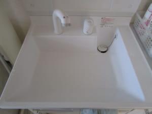 笠間市の洗面水漏れ