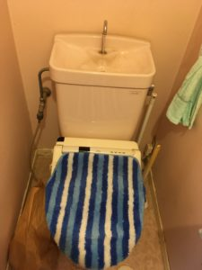 つくば市のトイレ水漏れ