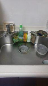鹿嶋市の台所排水詰まり