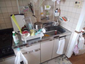 いわき市の台所つまり修理