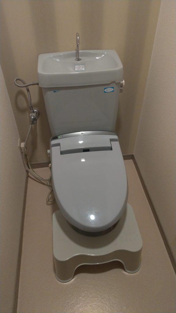 トイレの詰まり解消