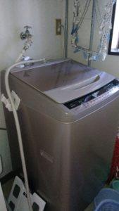 白河市の洗濯排水詰まり