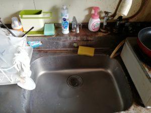 浪江町の台所水漏れ