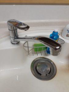 喜多方市の台所水漏れ