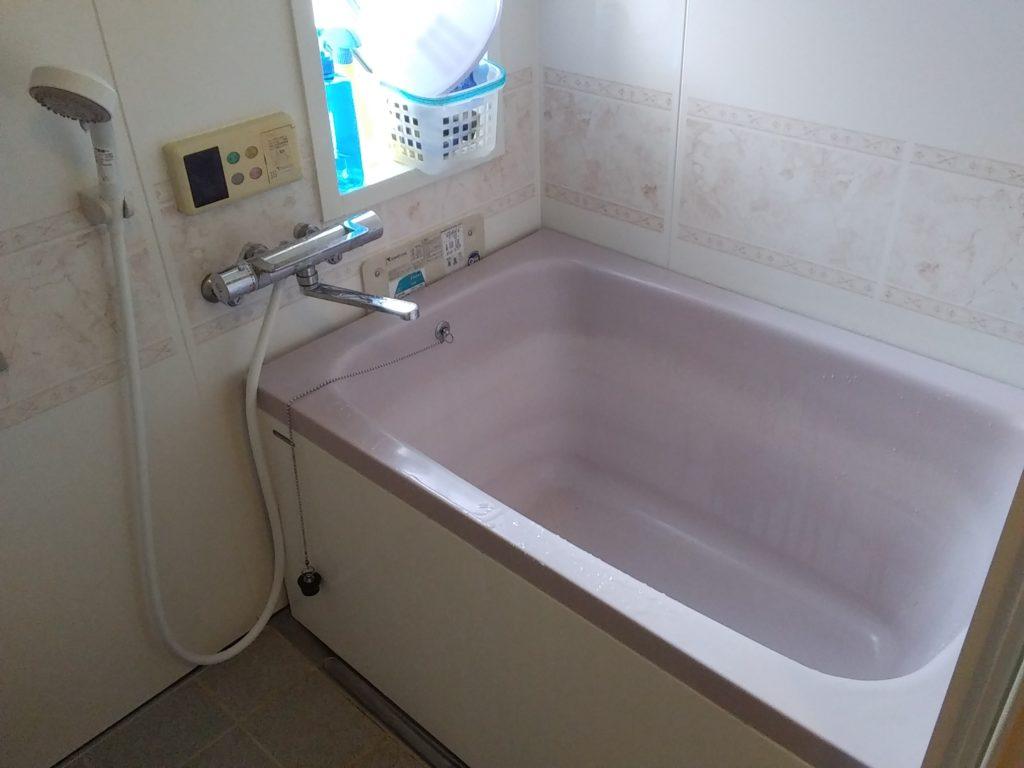 会津美里町の風呂詰まり