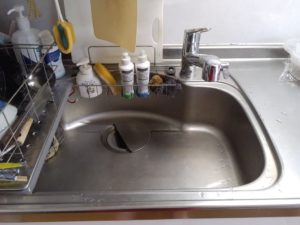 本宮市の台所水漏れ