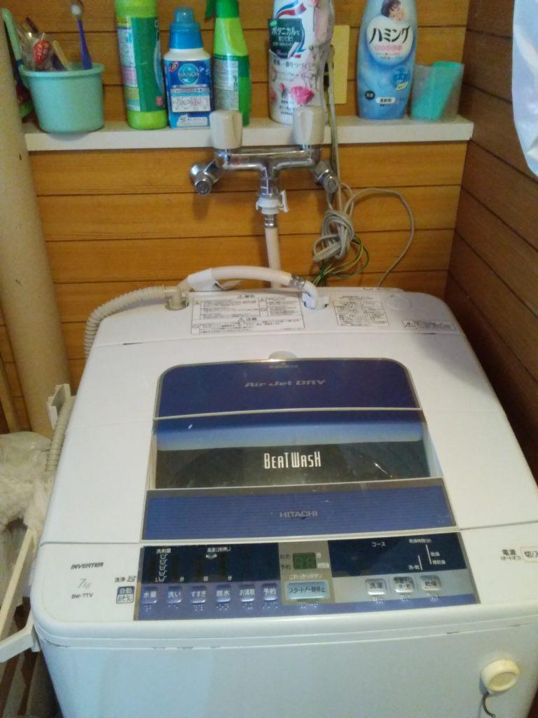 西郷村での洗濯機水漏れ修理のお依頼事例