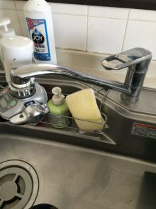 猪苗代町の台所水漏れ
