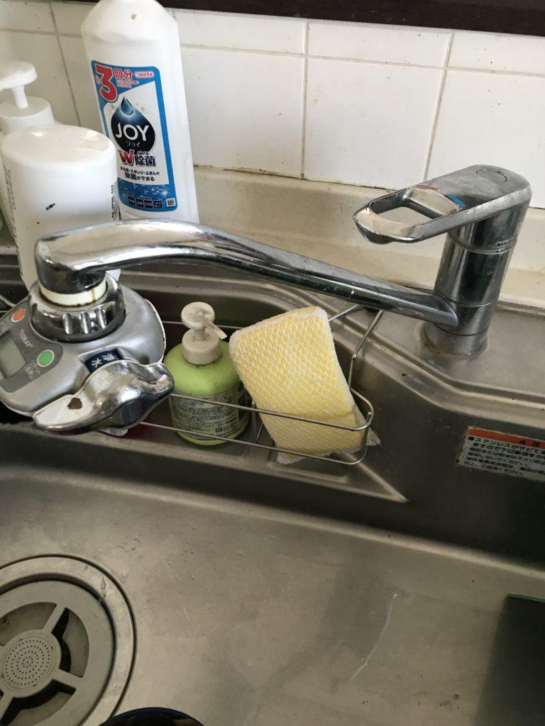 水漏れ現場のパーツ交換