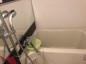 田村市の風呂水漏れ