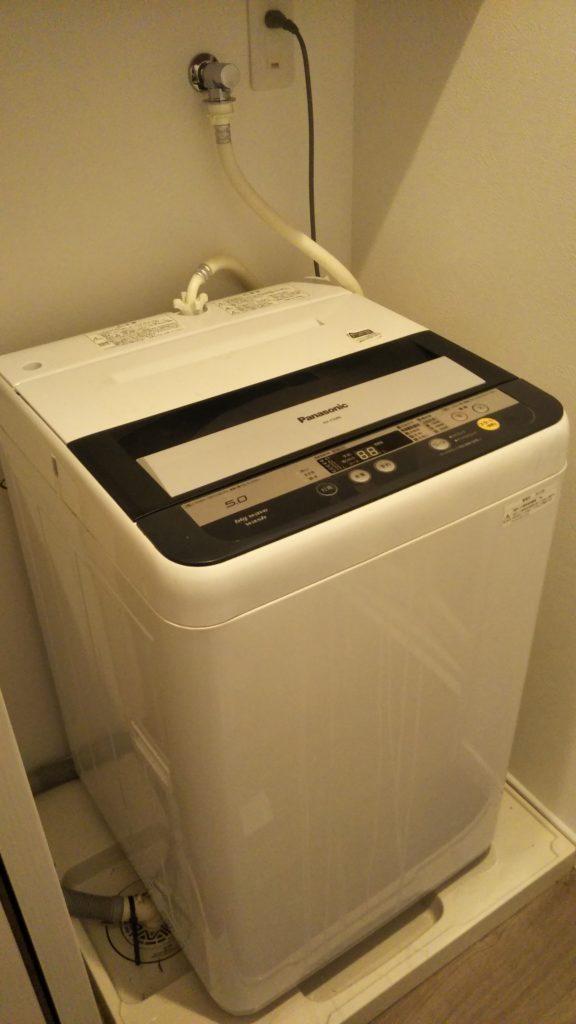 喜多方市の洗濯排水の詰まり
