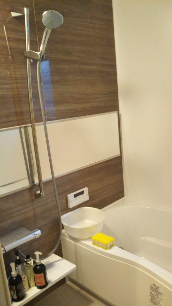 福島県浪江町の風呂の詰まりの修理に行きました