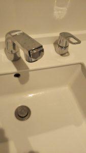 会津美里町の洗面水漏れ
