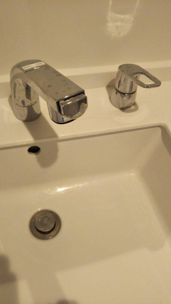 福島県会津美里町に洗面の水漏れ修理に行きました