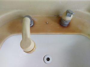 西郷村の洗面つまり