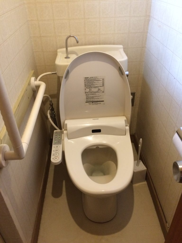トイレマットの濡れ