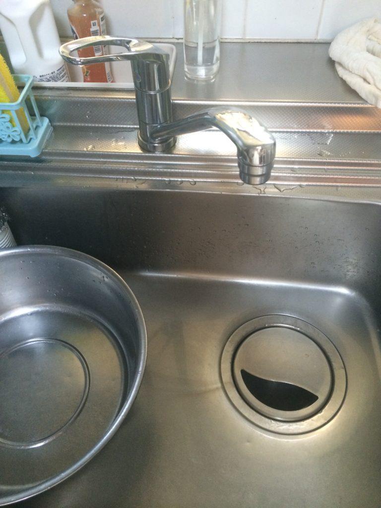 詰まりによる階下漏水