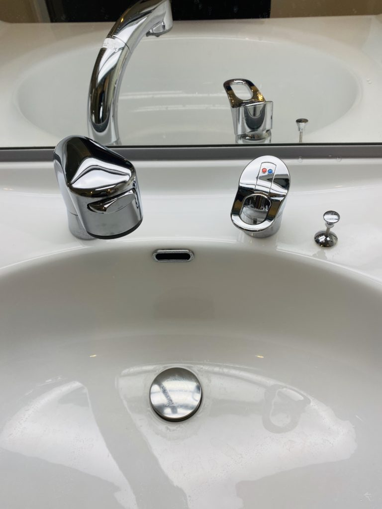 S字トラップ分解洗浄で解決