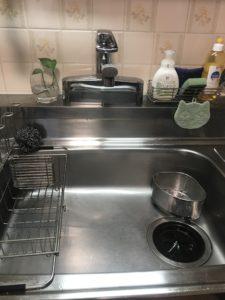 鏡石町の台所水漏れ