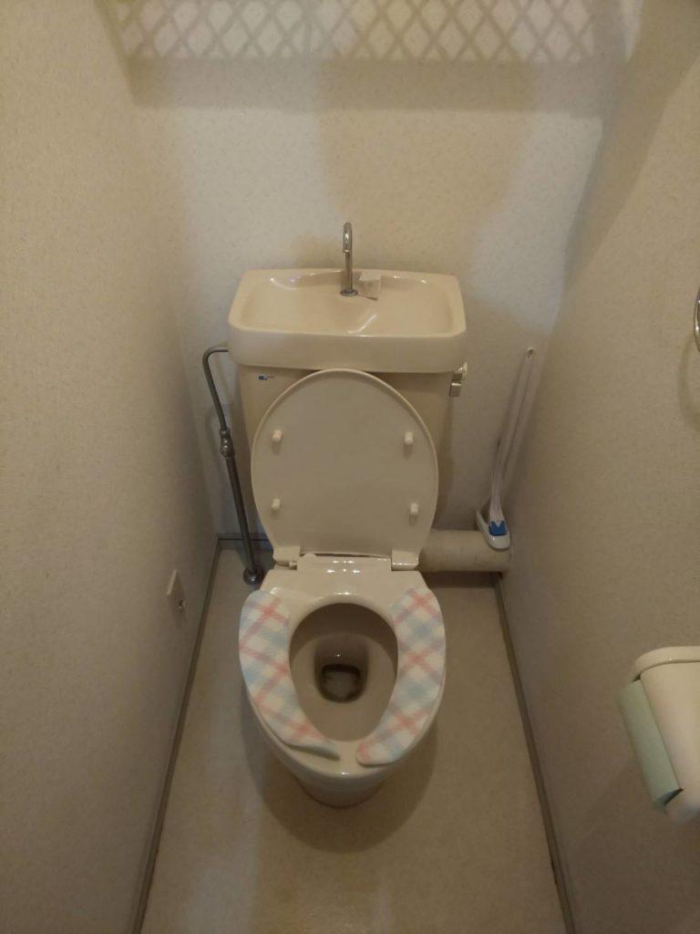 郡山市でトイレつまりトラブル解決施工事例