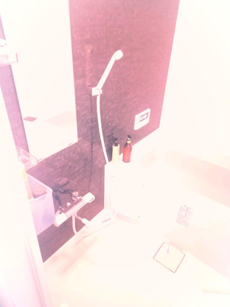 郡山市でお風呂の蛇口水漏れ修理の施工事例