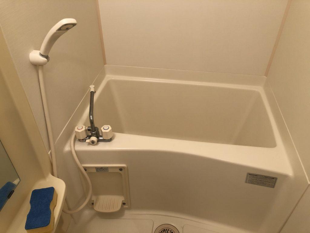 福島市お風呂場の詰り修理を行いました。