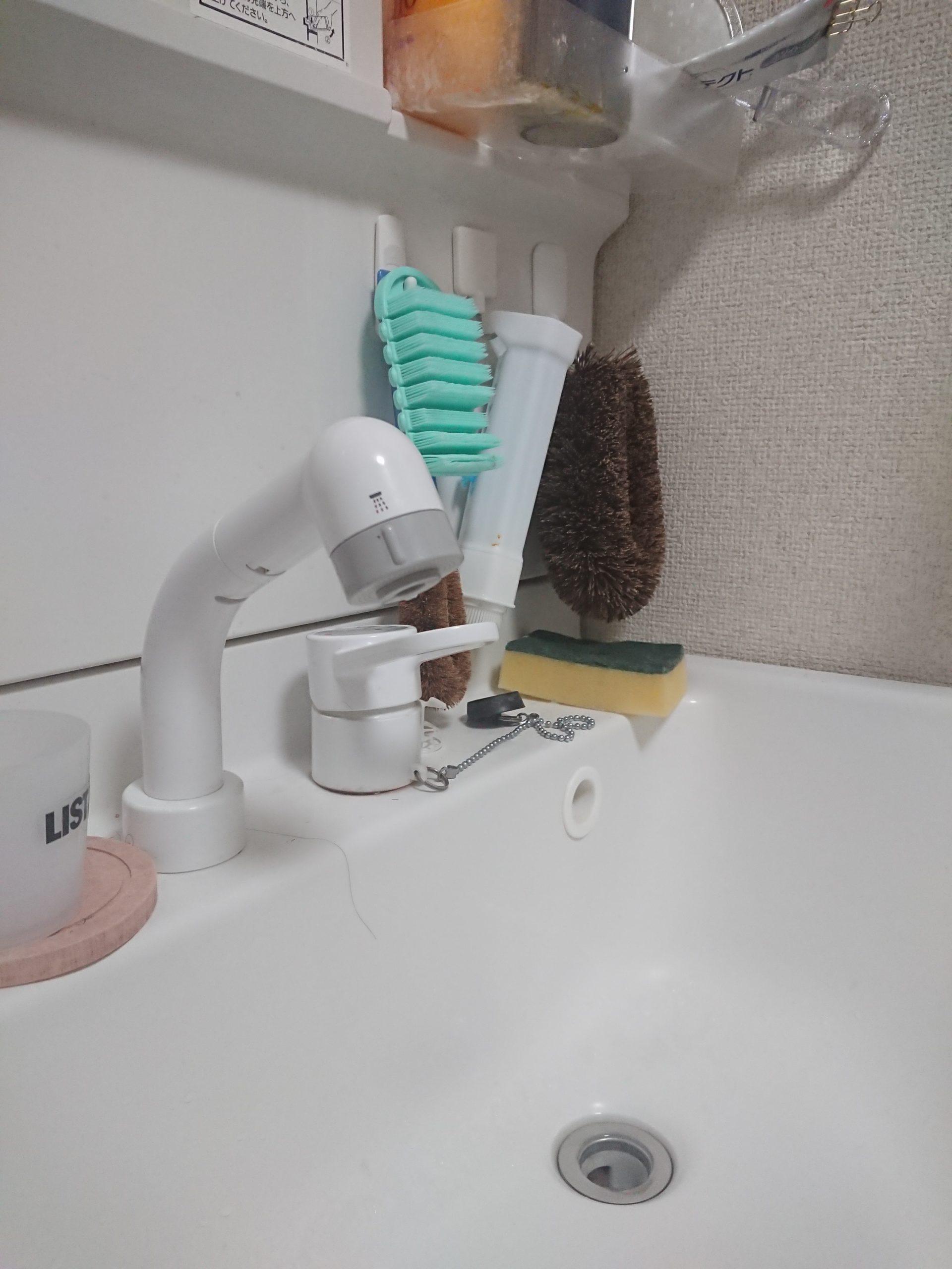 洗面の蛇口水漏れ
