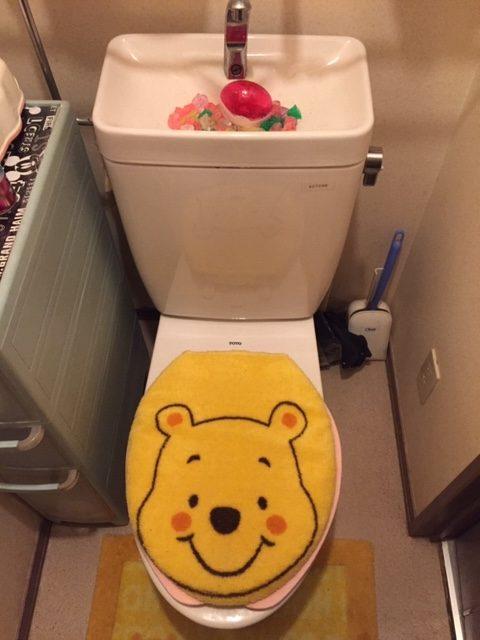 須賀川市でトイレの水漏れ修理を行いました。