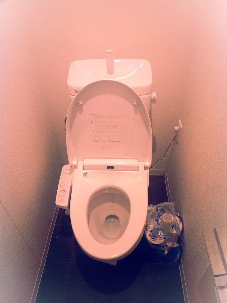 郡山市でトイレつまり修理を行いました。
