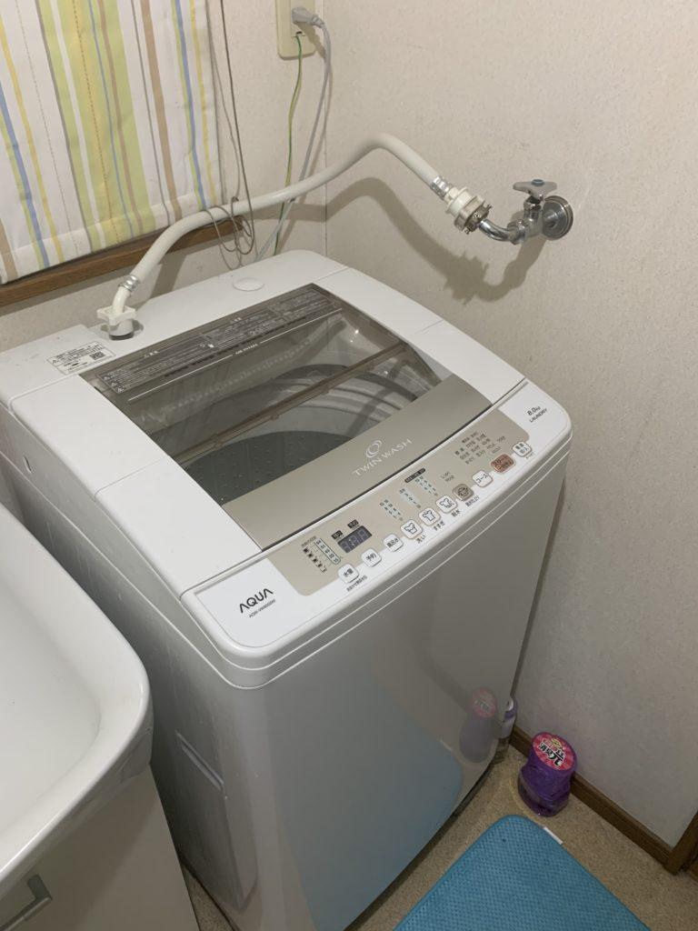 郡山市で洗濯排水詰まり解決の施工事例