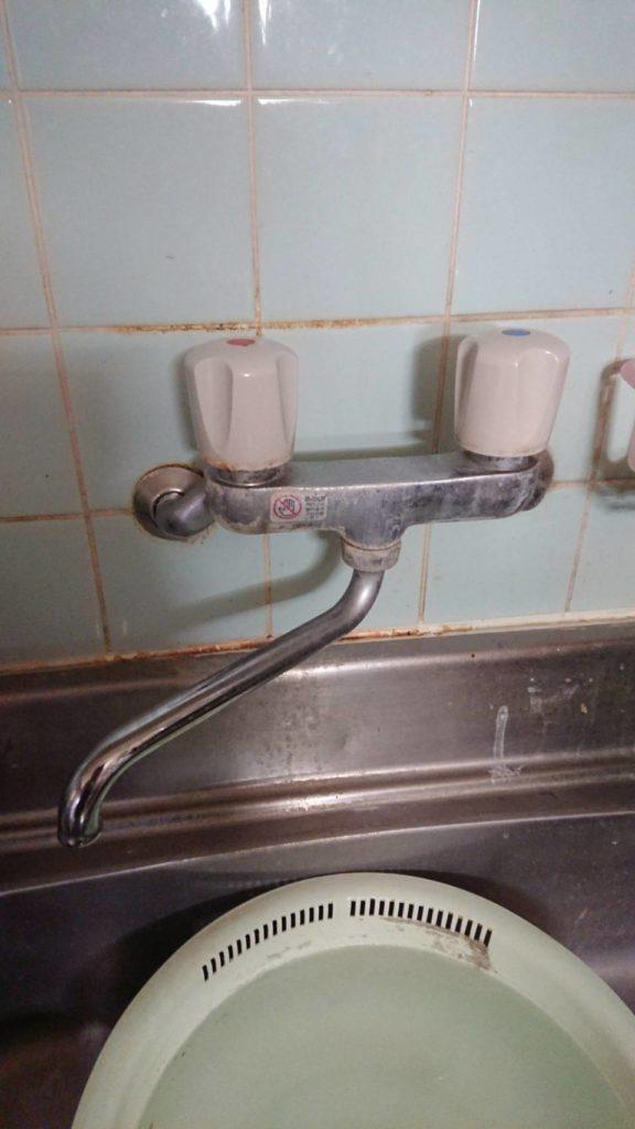 伊達市でキッチンの排水水漏れ修理を行いました。