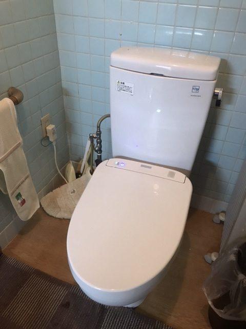 本宮市でトイレタンクからの水漏れトラブルを解決しました。
