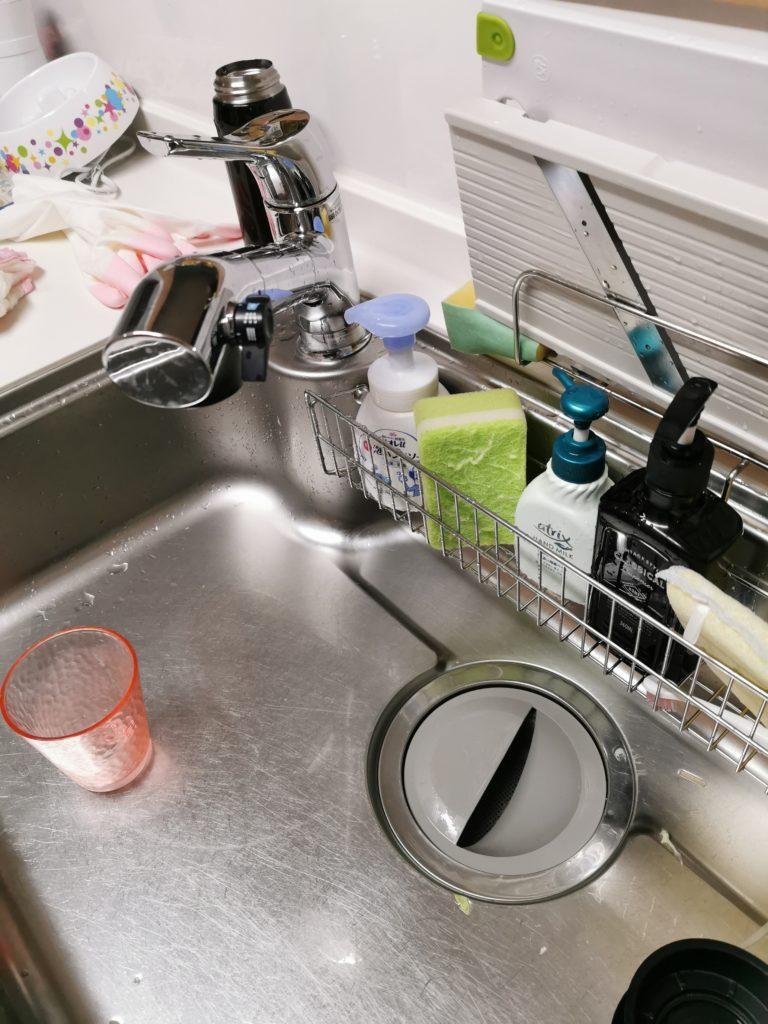 岩瀬郡でキッチンの排水管つまりトラブルを解決しました。
