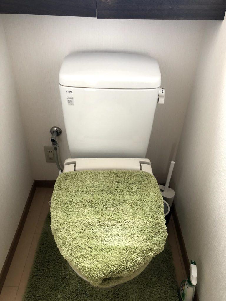 いわき市でトイレつまりトラブルを解決した事例です。