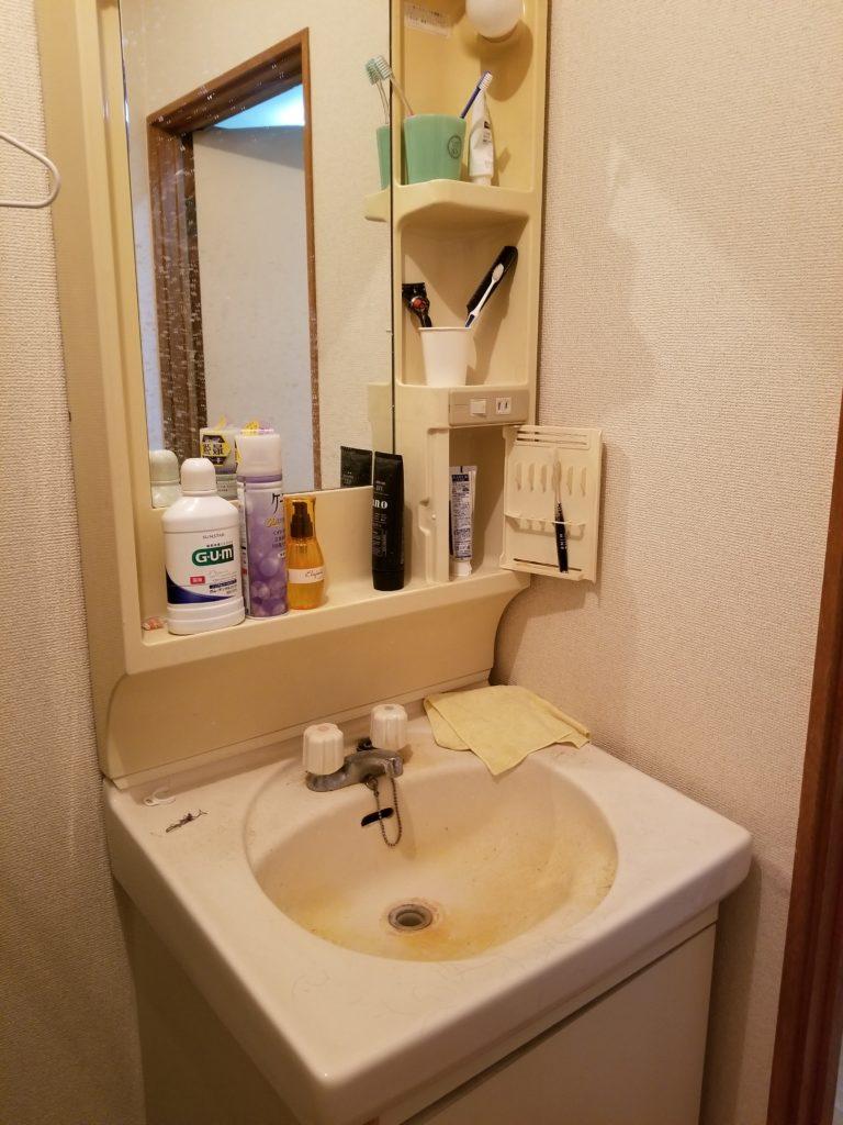 双葉郡で洗面蛇口の水漏れ修理を解決しました。