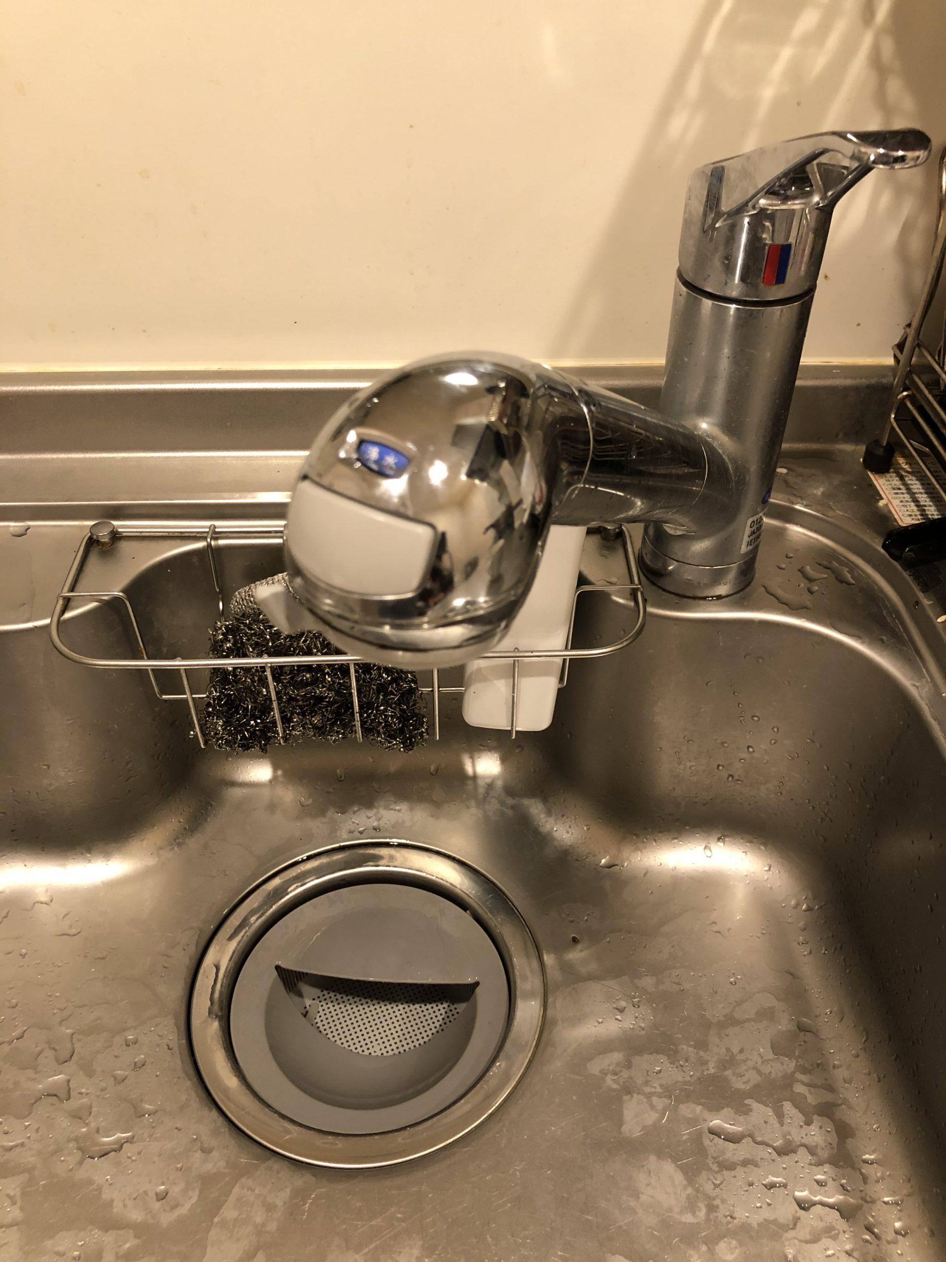 キッチン下の水漏れ