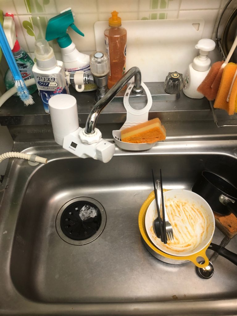 田村市で台所排水つまりトラブル解決事例