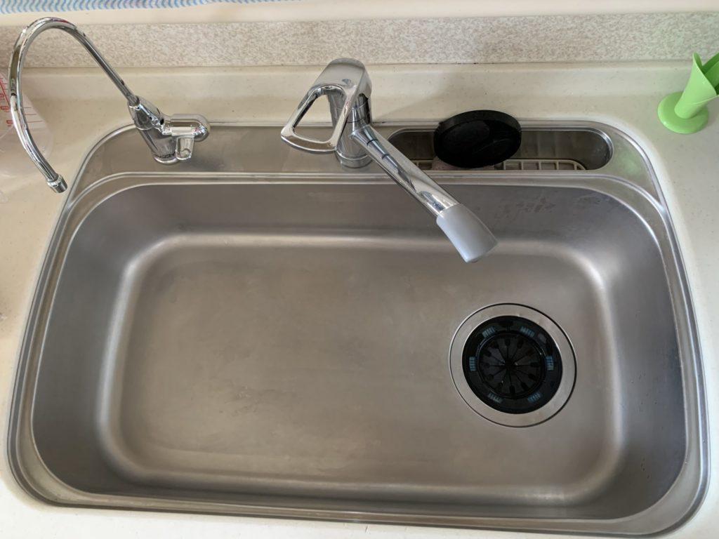 金山町でキッチン蛇口の水漏れ修理