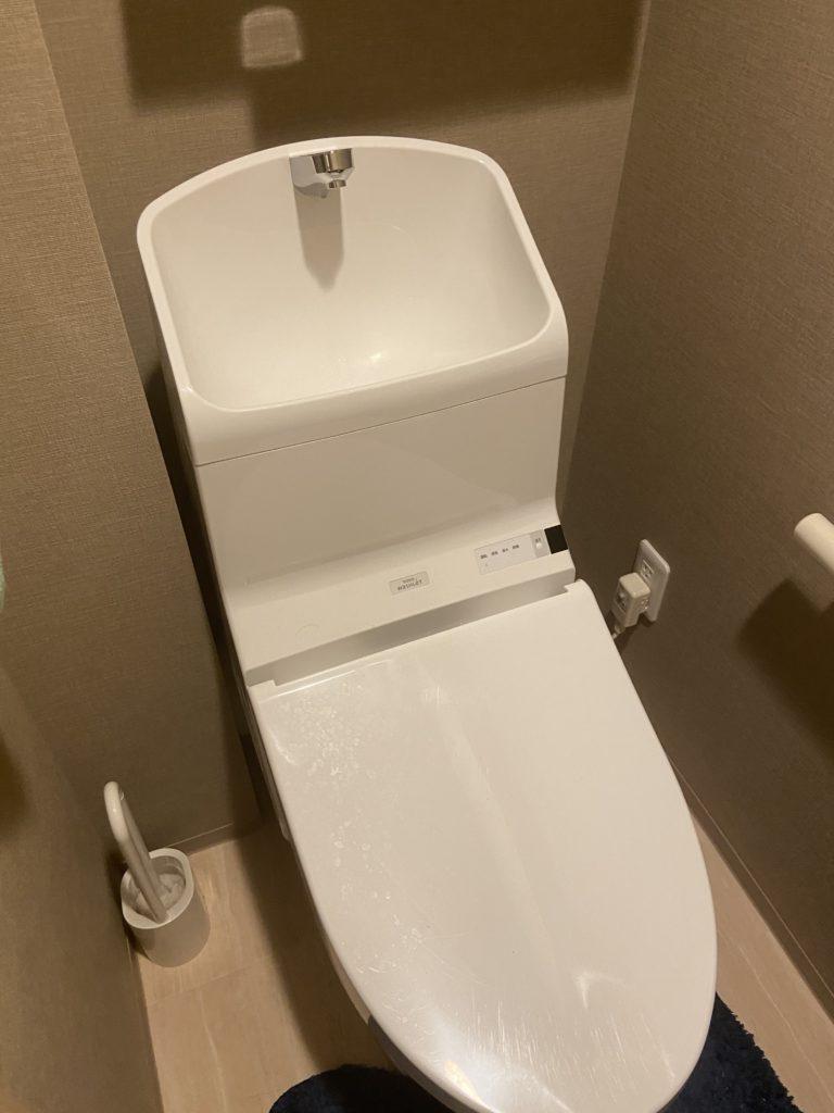 洋野町でトイレの水漏れ修理を行いました。
