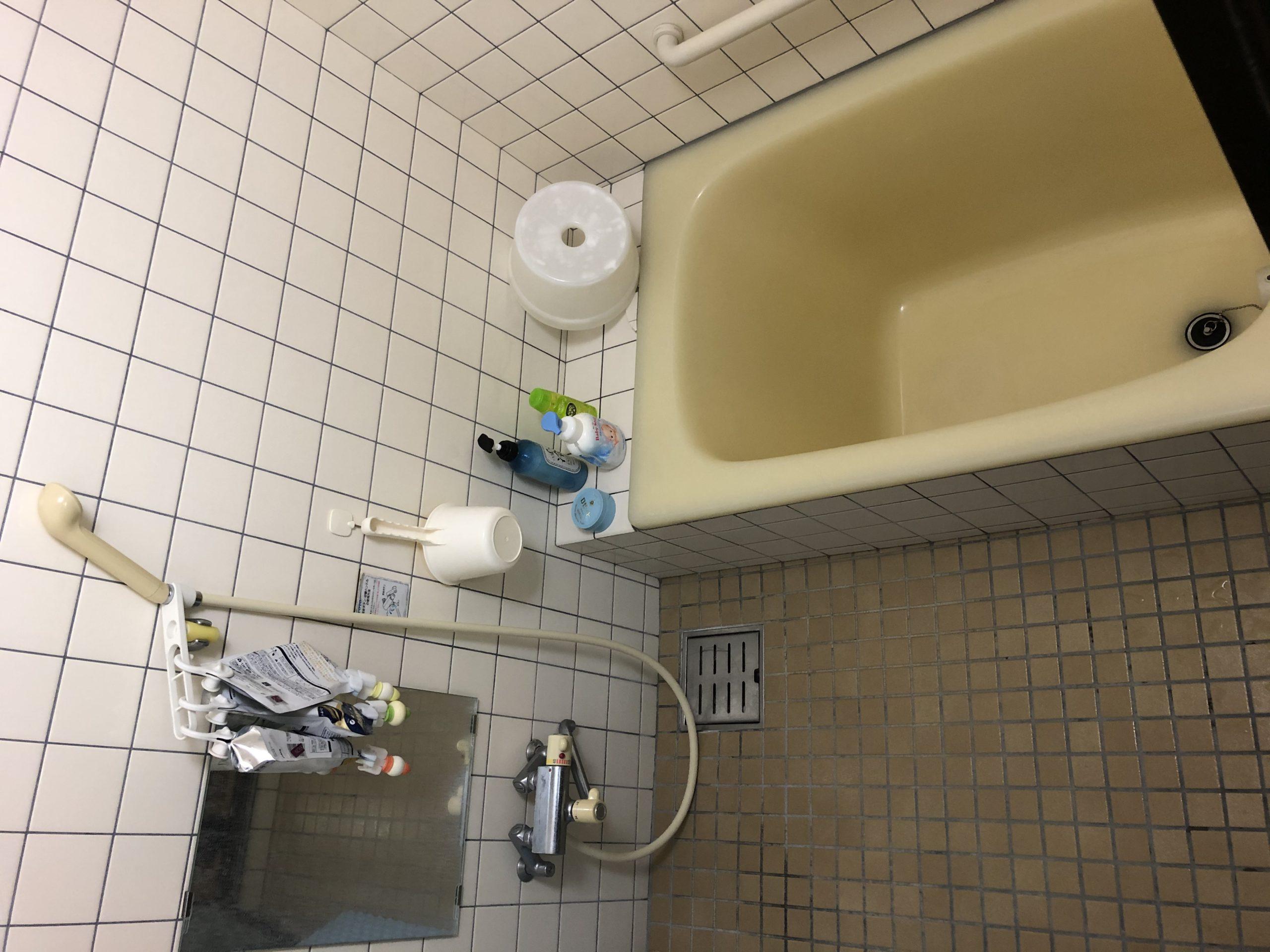 お風呂つまり