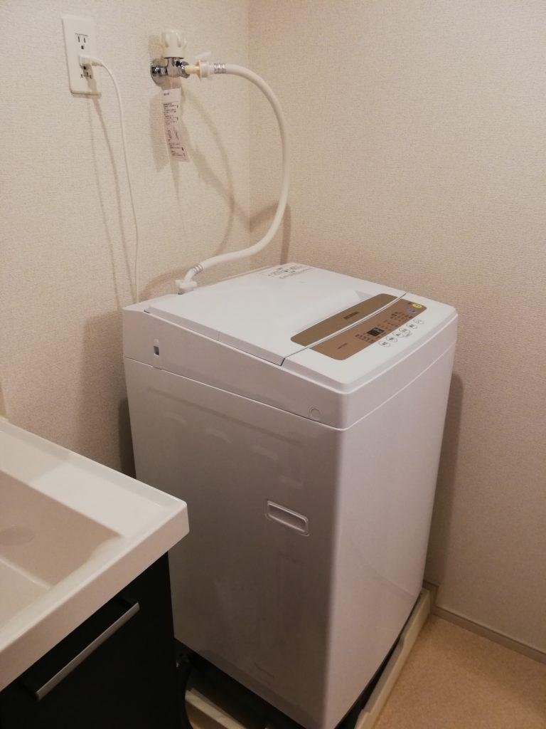 福岡県糸島市で洗濯排水の詰まり修理を行いました。