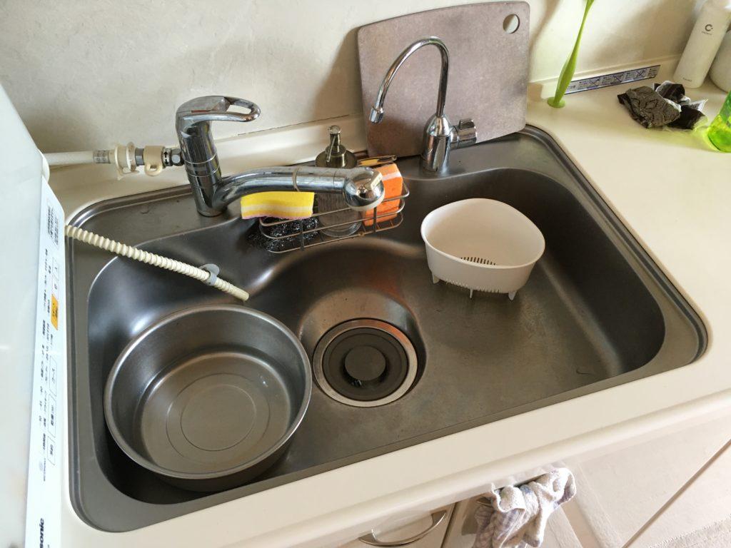 福島県南相馬市でシングルレバーの修理を行いました。