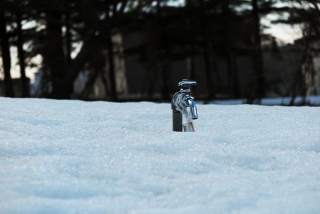 冬にトイレが凍結した場合の対処方法
