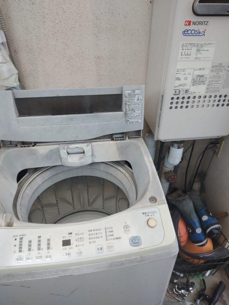 福島県伊達市で洗濯排水のつまりトラブル解消